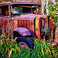 Old Rusting Truck by Garry Gay