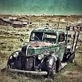 Old Rusty Truck by Jill Battaglia