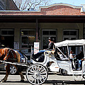 Old Sacramento California . Horse Drawn Buggy . Long Cut . 7d11482 by Wingsdomain Art and Photography