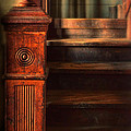 Old Staircase by Jill Battaglia