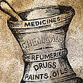 Old Time Medicine Ad by Wendy White