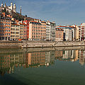 Old Town Of Lyon by Niall Sargent