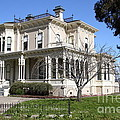 Old Victorian Camron-stanford House . Oakland California . 7d13445 by Wingsdomain Art and Photography
