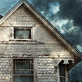 Old Victorian House Detail by Jill Battaglia