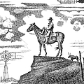 Old-west-art-cowboy by Gordon Punt