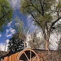 Old West Water Mill 1 by Darcy Michaelchuk