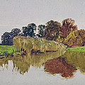 On The Arun Stoke Sussex  by George Vicat Cole