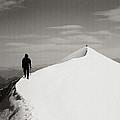 On The Snow Crest by Konstantin Dikovsky