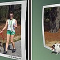 On The Trail - Gently Cross Your Eyes And Focus On The Middle Image That Appears by Brian Wallace