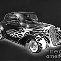 One Hot 1936 Chevrolet Coupe Print by Peter Piatt