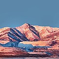 Oquirrh Mountains Utah First Snow by Tracie Kaska