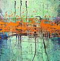 Orange Visitation by Lolita Bronzini