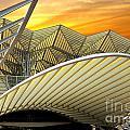 Oriente Station by Carlos Caetano