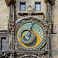 ORLOJ - Prague Astronomical Clock Print by Christine Till