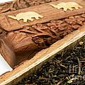 Ornate Box With Darjeeling Tea by Fabrizio Troiani