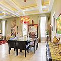 Ornate Dining Room by Skip Nall