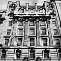 Ornate Facade Of 124 St Vincent Street Refurbished Into Modern Office Space Glasgow Scotland Uk by Joe Fox