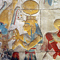Osiris And Isis, Abydos by Joe & Clair Carnegie / Libyan Soup