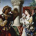 Othello And Desdemona by Daniel Maclise