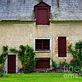 Outbuildings Of Chateau Cheverny by Louise Heusinkveld