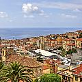Over The Roofs Of Sanremo by Joana Kruse