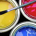 Paint Cans by Carlos Caetano