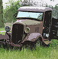 Painted 30's Chevy Truck by Steve McKinzie