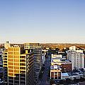 Panoramic City Skyline by Jeremy Woodhouse