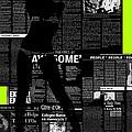 Paper Dance 2 Print by Naxart Studio