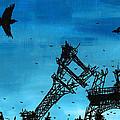 Paris Is Falling Down by Jera Sky