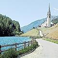 Parish Church St Nicholas Valdurna Italy by Joseph Hendrix