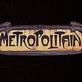 Parisienne Metro Sign by Rod Jones