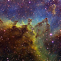 Part Of The Ic1805 Heart Nebula by Filipe Alves