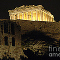 Parthenon Athens by Bob Christopher