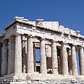 Parthenon front Facade Print by Jane Rix