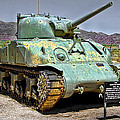 Patton M4 Sherman by Jason Abando