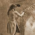 Paviotso Artist 1924 Sepia