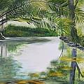 Peaceful Pond by Tessa Dutoit