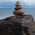 Pebble Sculpture by Richard Thomas