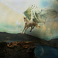 Pegasus Flying Horse by Patricia Ridlon