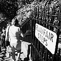 People Walking Down The Playfair Steps Down Into Princes Street Gardens Edinburgh Scotland Uk United by Joe Fox