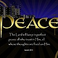 Perfect Peace by Greg Long