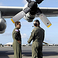 Personnel Conduct A Pre-flight Briefing by Stocktrek Images