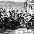 Peru: Theater, 1869 by Granger