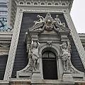 Philadelphia City Hall Window by Bill Cannon