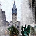 Philadelphia Fountain by Bill Cannon