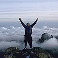Photographer Bobby Model At The Peak by Bobby Model