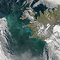 Phytoplankton Bloom In The North by Stocktrek Images
