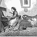 Pianist, 1876 by Granger