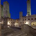 Piazza Duomo At Dusk by Rob Tilley